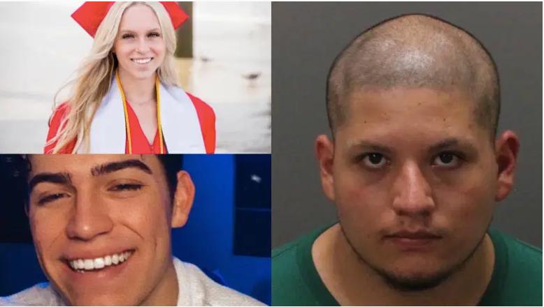"""Joseph Jiménez está acusado de disparar contra Rylee Goodrich y Anthony Barajas en una proyección de """"The Forever Purge"""" en un cine de Corona, California."""
