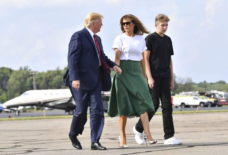 ¿Cuánto mide Barron, el hijo menor de Donald Trump?