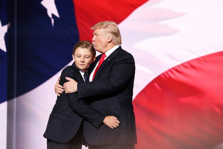 Barron, el hijo menor de Trump sorprende por lo grandísimo que está