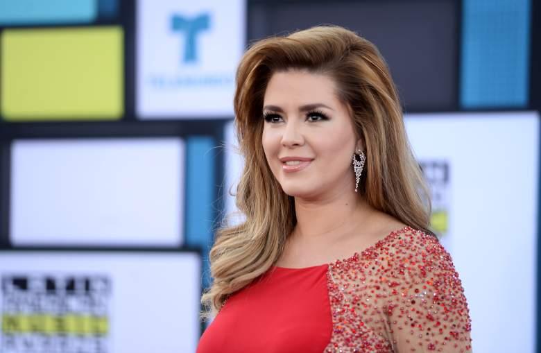 la ex Miss Universo Alicia Machado asiste a los Latin American Music Awards 2016 en Dolby Theatre el 6 de octubre de 2016 en Hollywood, California.