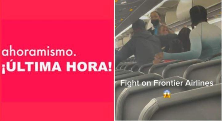 pelea-pasajeros-frontier-airlines