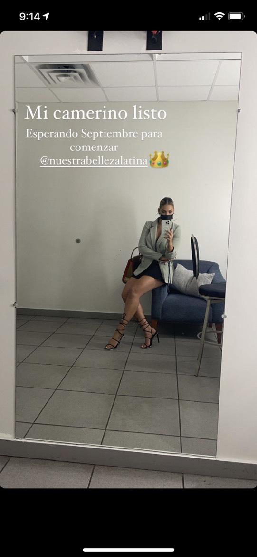 Migbelis Castellanos en Nuestra Belleza Latina