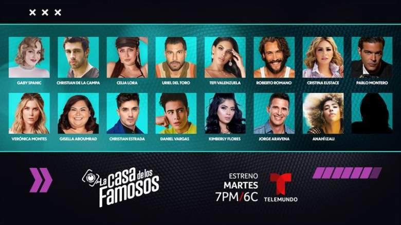 """""""La Casa de los Famosos"""" en Telemundo: ¿Quiénes son los participantes?"""