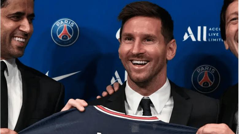 Lionel Messi en el PSG