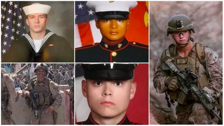 Estos son algunos de los marines y miembros del servicio muertos en Afganistán.