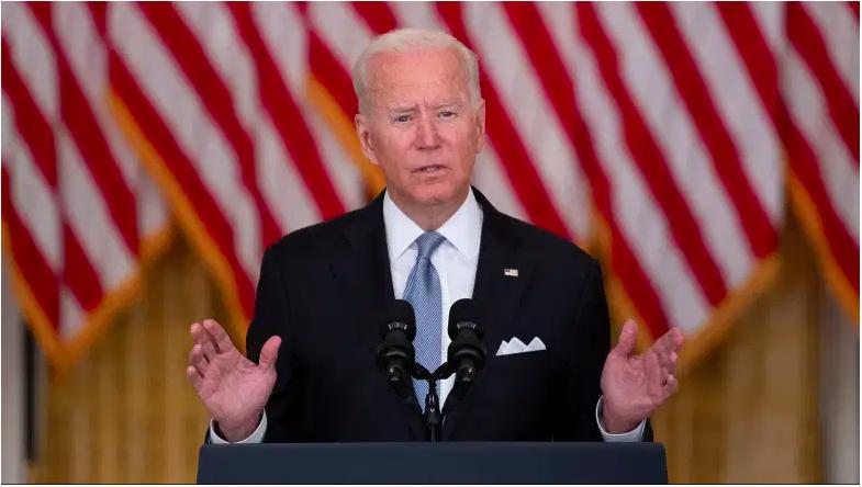 El presidente Joe Biden habla sobre la toma de Afganistán por los talibanes.