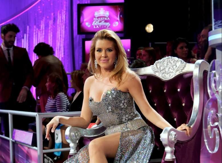 La pelea de Alicia Machado y Osmel Sousa en Nuestra Belleza latina 2014