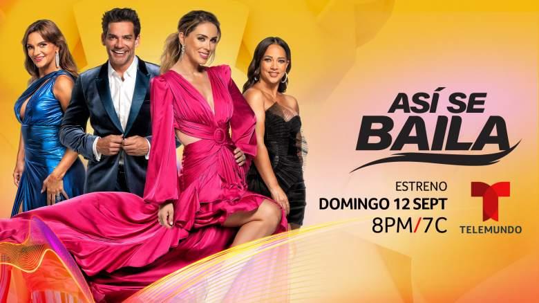 """""""Así Se Baila"""" en Telemundo: Fecha y hora de estreno"""