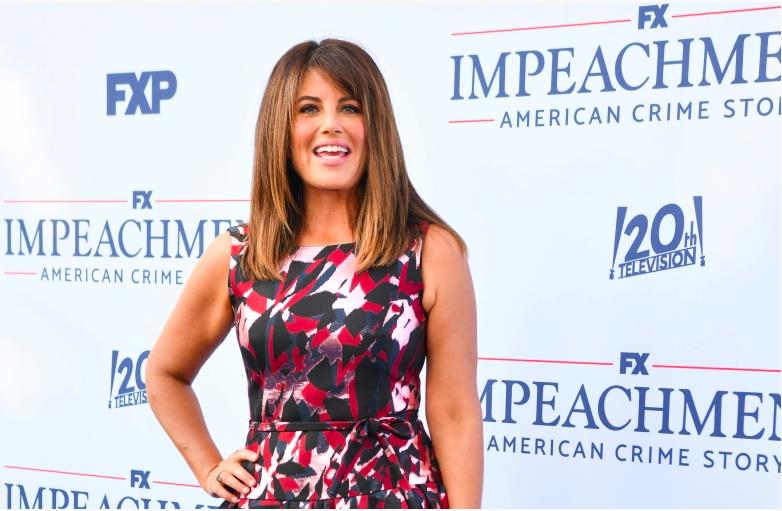 """Monica Lewinsky asiste al estreno de """"Impeachment: American Crime Story"""" de FX en el Pacific Design Center el 1 de septiembre de 2021 en West Hollywood, California."""