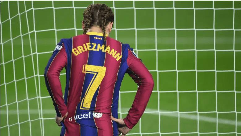 Antoine Griezmann en el Barcelona