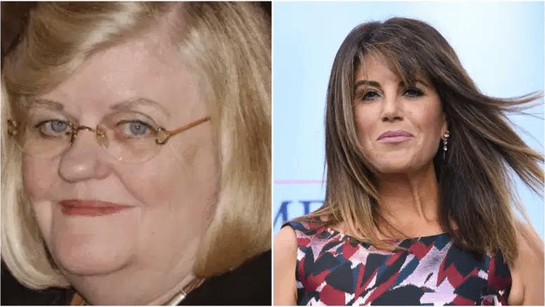 Lucianne Goldberg y Monica Lewinsky