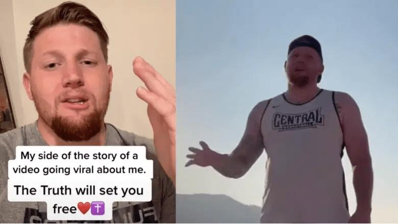 Logan Dorn fue despedido después de que un video de él confrontando a mujeres por usar bikinis en una playa se volviera viral en TikTok.