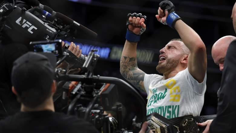 Volkanovski vs. Brian Ortega: una mirada de pies a cabeza