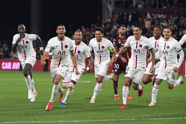 PSG vs Montpellier.