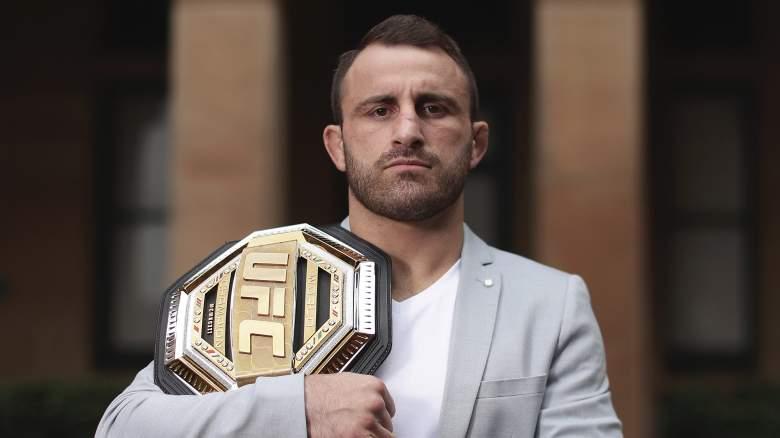 El campeón de UFC Alex Volkanovski tiene marca de 9-0 en peleas de UFC.