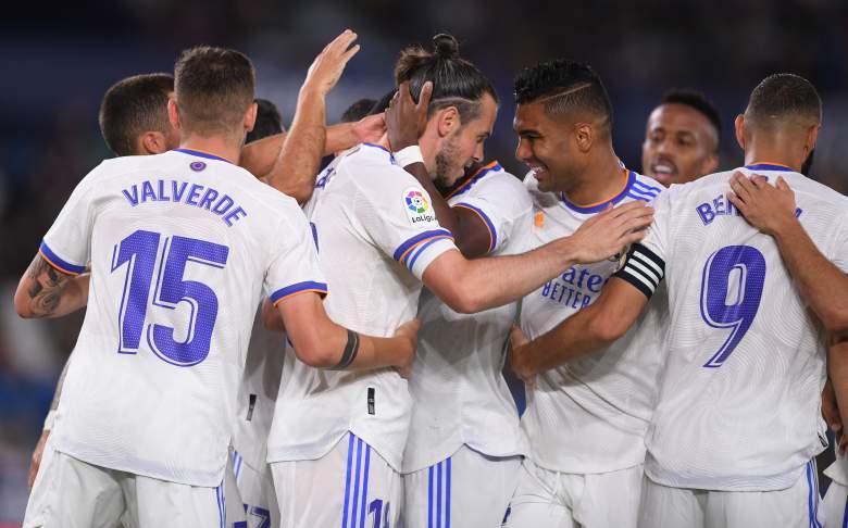 El festejo de Real Madrid.