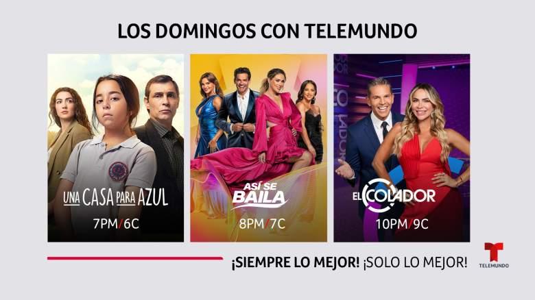 Telemundo anunció su nueva programación para los domingos: ¿De qué se trata?