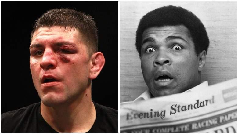 Nick Díaz tiene más en común con Muhammad Ali de lo que probablemente piensas.