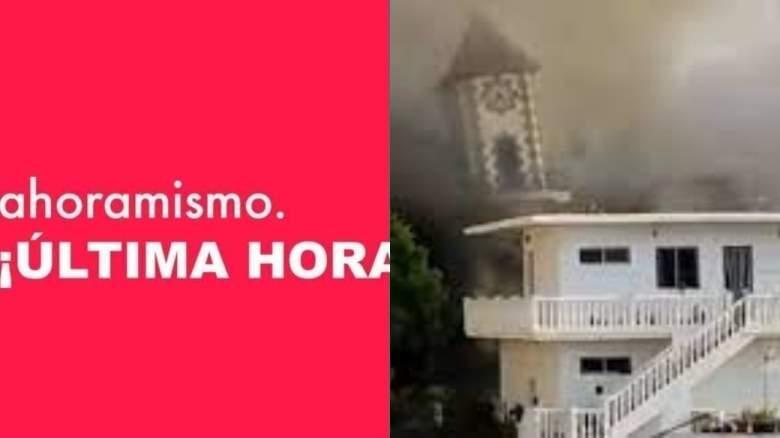 Erupción de volcán La Palma
