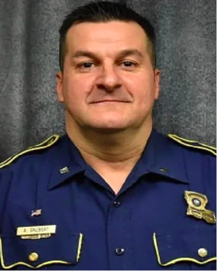 El policía estatal de Luisiana Adam Gaubert.