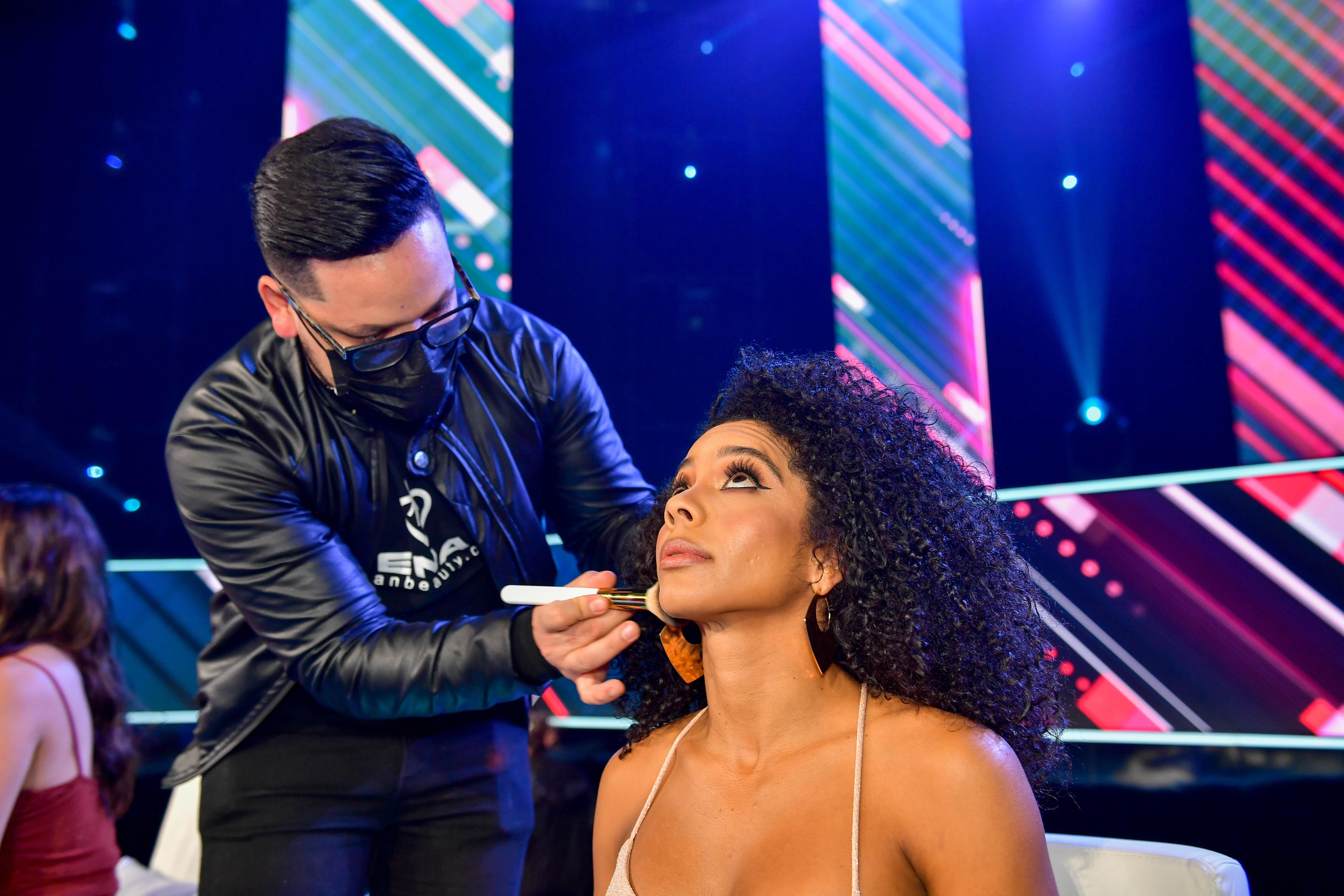 Photos of contestants from Nuestra Belleza Latina