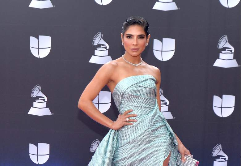 Alejandra Espinoza parece con tres meses de embarazo
